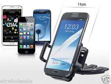 Car CD Slot Mount Dash Bracket Holder for LG G4 G5 V10 V20 Cell Phone