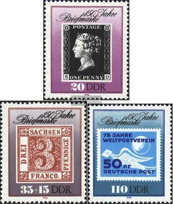 Clever Ddr 3329-3331 kompl.ausg. Fdc 1990 150 Jahre Briefmarken