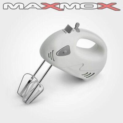 Handrührer Handmixer Hand Mixer Rührer Handrührgerät Rühren Kneten weiß neu