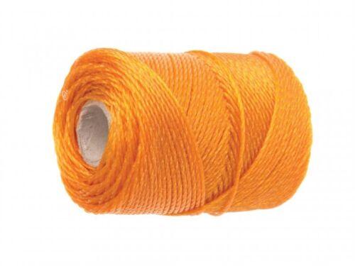 Faithfull 3250 Orange Polyethylene Heavy Duty Brick Line 250m