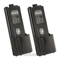 2 X Baofeng Bl-5l Li-ion 7.4v 3800mah Original Battery For Bf-f9 Radio