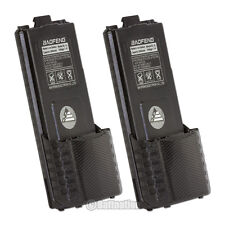 2 x BAOFENG Pofung BL-5L 3800mAh 7.4V Extended Li-Ion Battery for UV-5R Radio