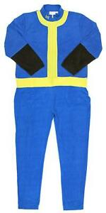 Mens-Fallout-Vault-Boy-Pajama-Costume-one-piece-union-suit-halloween-video-game