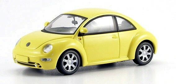 VERY RARE VW BEETLE 1C 1.4   1.6   2.0   TDI 1999 YELLOW 1 43 SCHUCO 04532