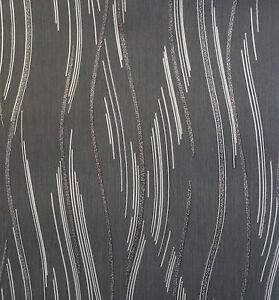 Glitter Wallpaper Shimmer Textured Modern Lines Stripes