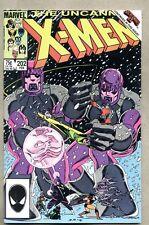 Uncanny X-Men #202-1986 nm- X Men John Romita Jr. Secret Wars