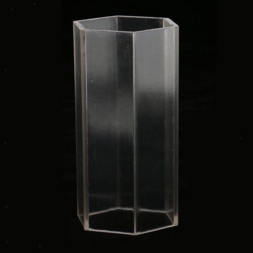 4 Formen Kunststoff Kerzeform Seife DIY Werkzeug Handwerk Ton Formen