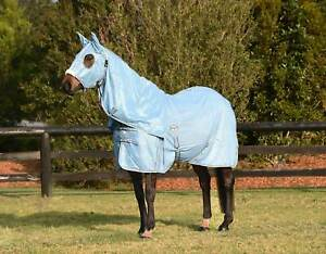Details About 270gsm Hooded Mesh Horse Rug