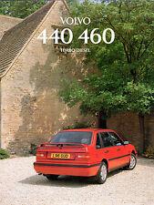 Volvo 440 & 460 Turbo Diesel 1994 UK Market Foldout Sales Brochure Li Si SE