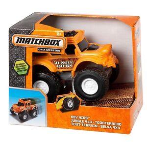 Match-Box-on-a-Mission-Explorers-Motorised-Vehicles-Truck-Orange-BJV61