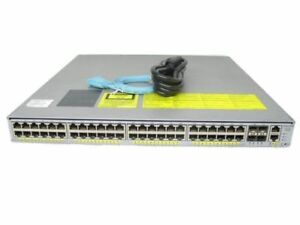 Cisco-WS-C4948E-Catalyst-4948E-Switch-w-Dual-AC-Power-1-Year-Warranty