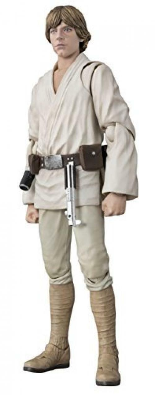SH Figuarts Estrella Wars Luke Skywalker 150mm ABS & pintada de PVC Figura de Acción Japón