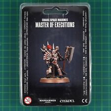 GW-43-44 Chaos Space Marines Master of Executions Warhammer 40,000