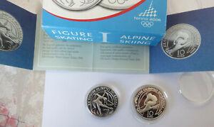 ITALIE- 2005 5 et 10 Euro Argent - J.Olympics Hiver TORINO 2006 I emiss BE  CPS