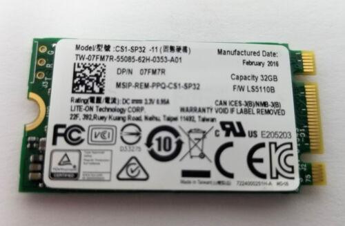 LITE-ON CS1-SP32-11 32GB M.2 SSD Dell Lenovo HP