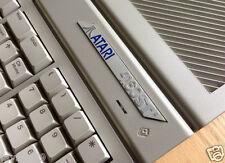 ATARI ST STE 4160 Case per computer in metallo BADGE ETICHETTA-ORIGINALE inutilizzato 1990s STOCK