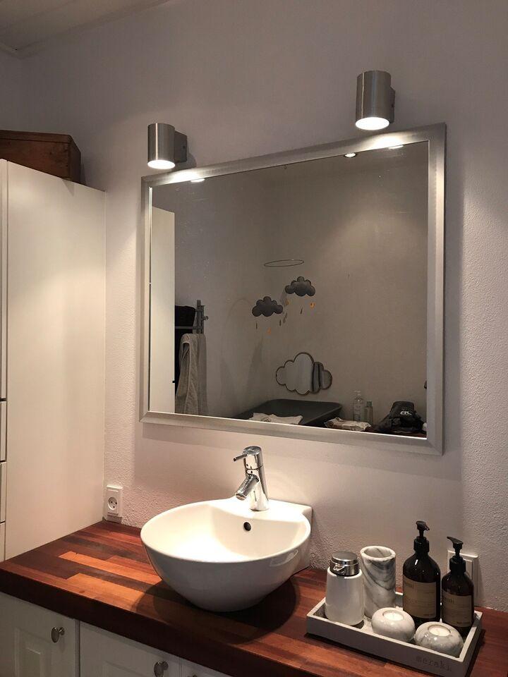 badeværelsesspejl Badeværelsesspejl, b: 90 h: 74 – dba.dk – Køb og Salg af Nyt og Brugt badeværelsesspejl