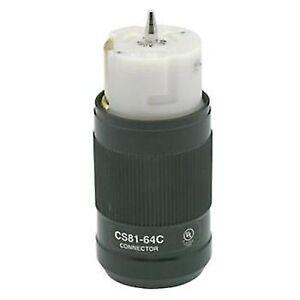 leviton cs8164c 3 phase 480v 50 amp 3 pole welding receptacle lock pop up receptacle 480v welding receptacle wiring #8
