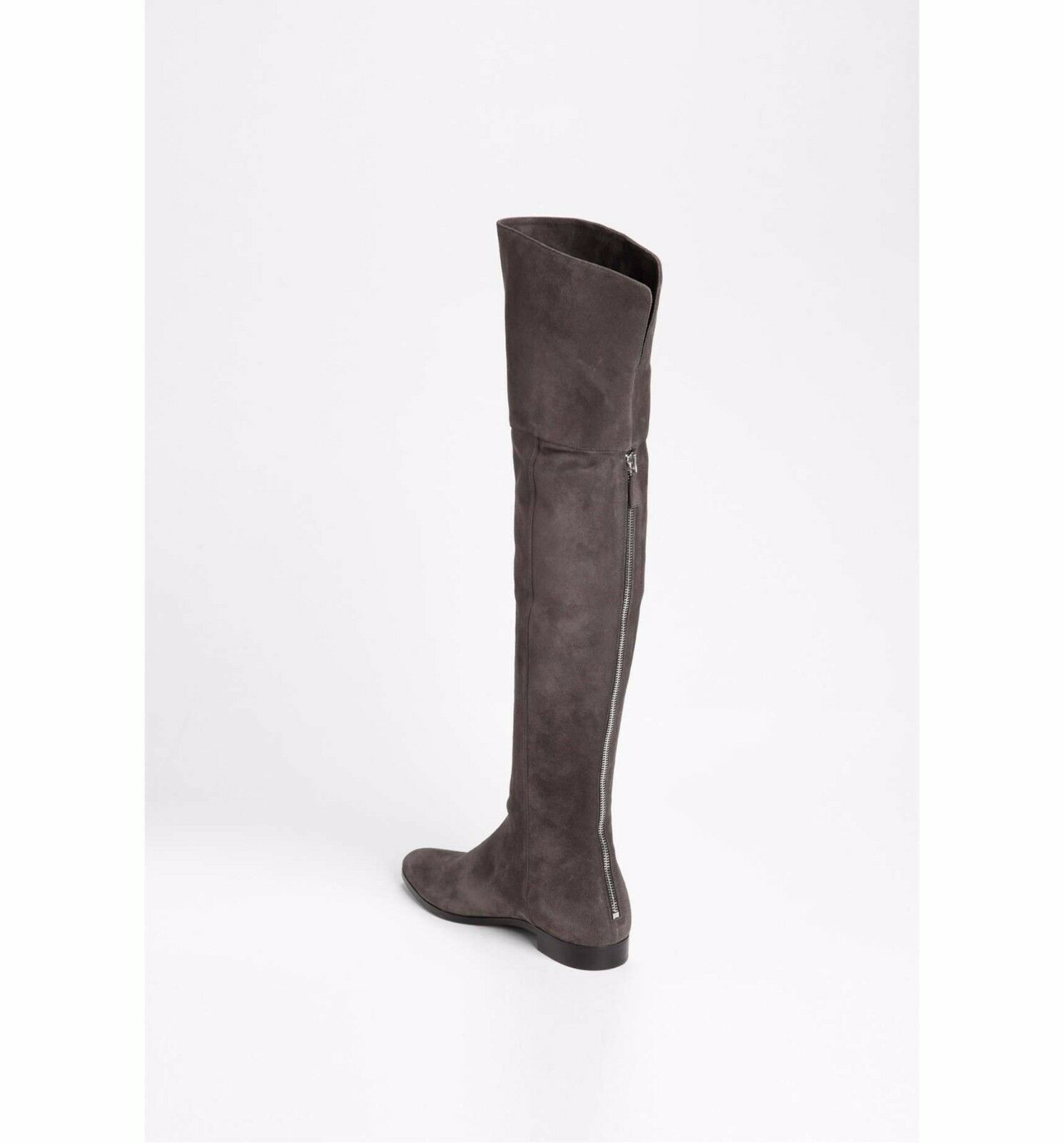1750.00 Prada Over the Knee Boot sz  EU 39.5    US 9.5 in brown suede 2bbfa7