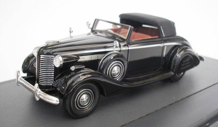 1938 Buick Series 40 Lancefield Drop Head in 1 43 Scale by Matrix MX50206-061