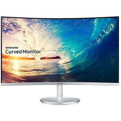 """SAMSUNG 27"""" WIDE PREMIUM CURVED LED MONITOR 1920X1080p, MODEL C27F591FDE"""