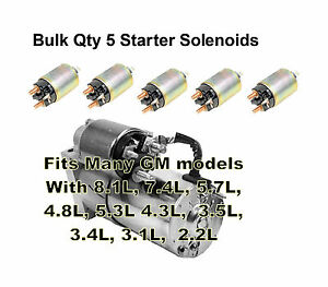 image is loading starter-solenoid-for-most-gear-reduction-gm-starters-