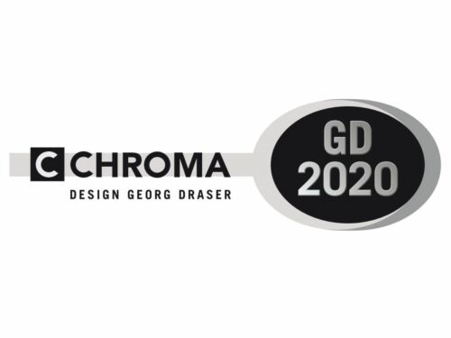 Chroma Longdrink Cuillère gd-2020-03 Design by Georg draser 6 Pièce