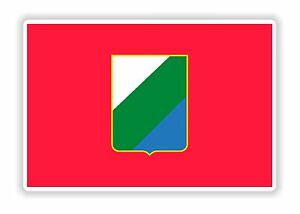 Details Zu Abruzzen Flagge Aufkleber Italien Stoßstange Helm Motorrad Laptop Lkw Tür Auto