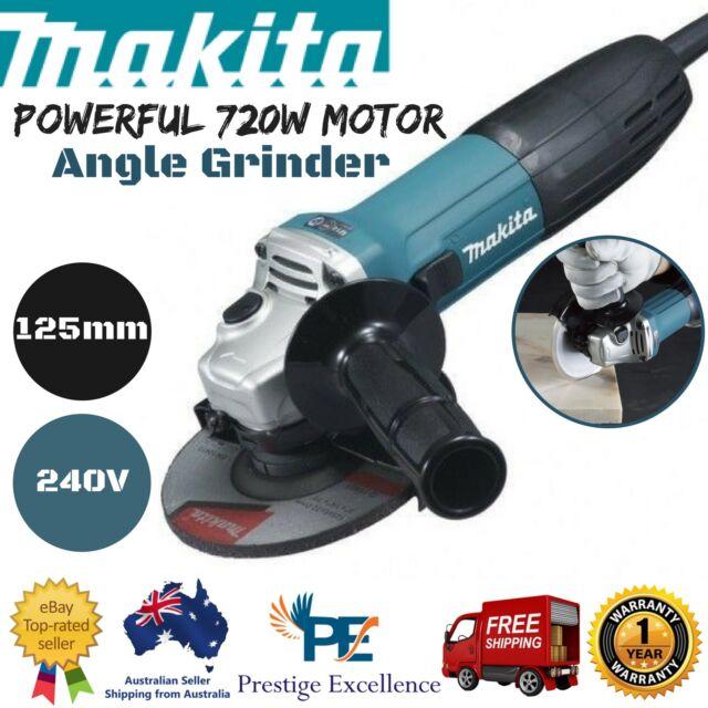 Angle Grinder Powerful 720W Motor Electric Power Grinding Cutting Polishing Tool