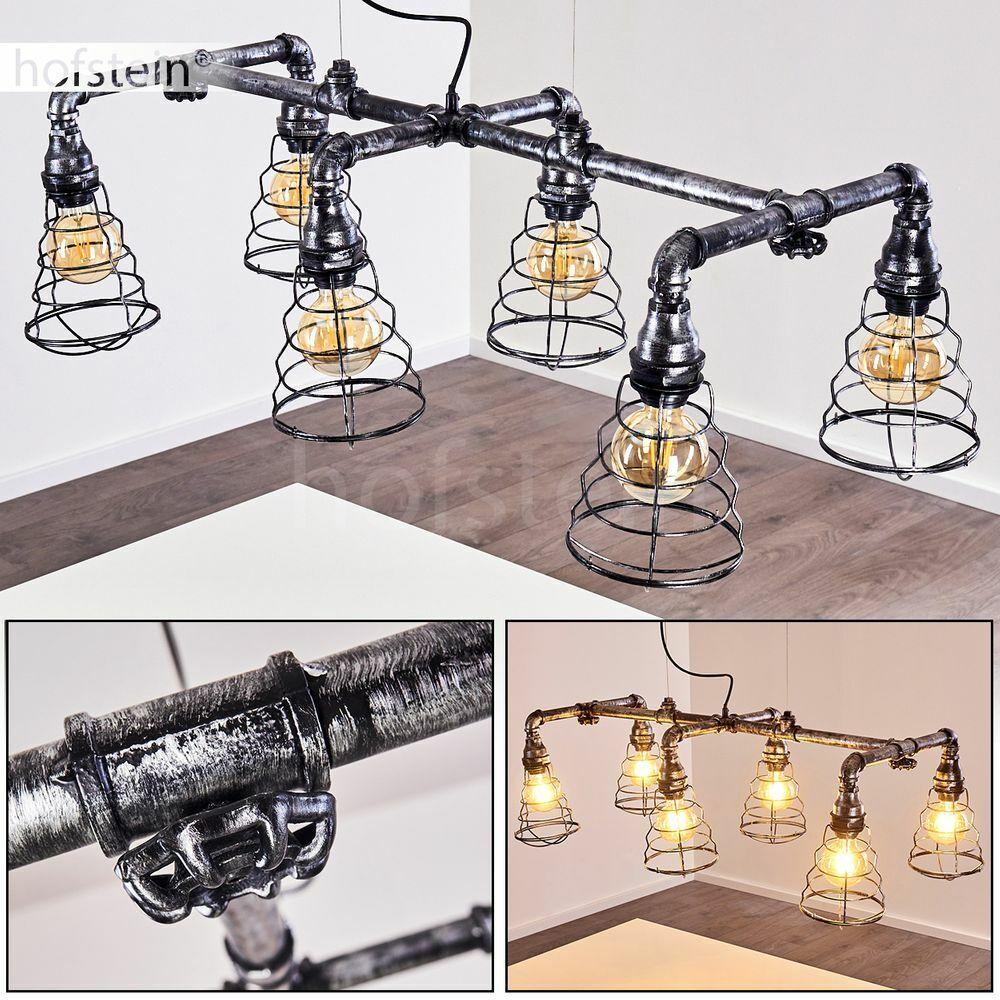 Vintage Pendel Hänge Lampe verstellbar Wohn Ess Schlaf Raum Leuchte industrial