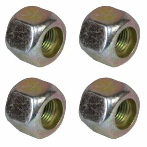 Pack-of-4-3-8-UNF-Wheel-Nuts-Nut-For-Trailer-Suspension-Hubs