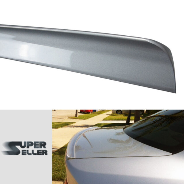 Painted Nh700m Silver For Acura TL 3rd Rear Boot Trunk Lip