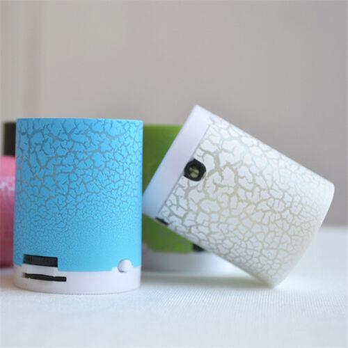 New LED USB Music Sound Subwoofer Mini Portable Speaker TF Box Gift