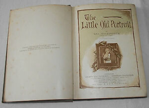 THE-LITTLE-OLD-PORTRAIT-Mrs-Molesworth-Vintage-Illustrated-Book-W-Gunston