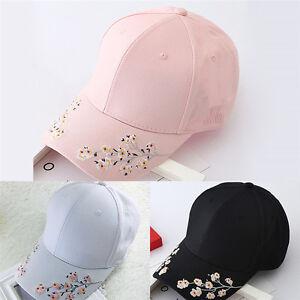 26dea94fd77 Image is loading Baseball-Cap-Ladies-Snapback-Cap-Hat-Women-Embroidered-