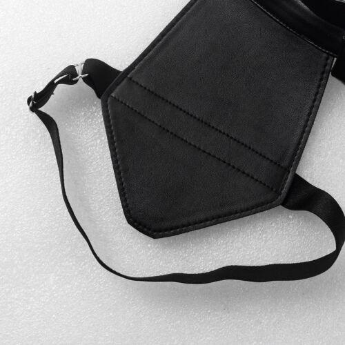Mens Leather Body Chest Harness Restrain Belt Shoulder Strap Dress Fancy Costume