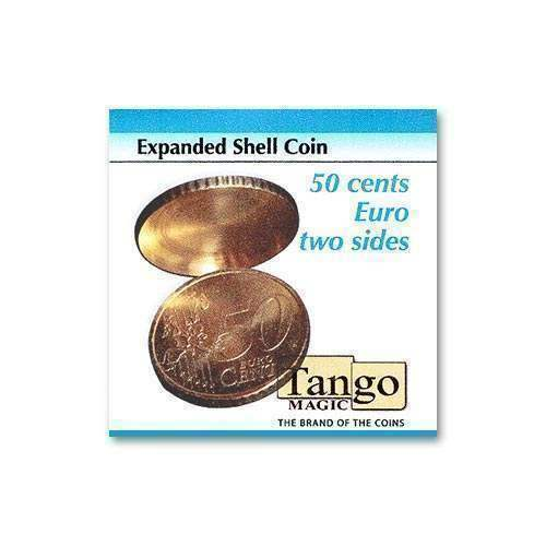 Expeed Shell  Coin (two sides) - 50 cents Euro by Tango Magic  disegni esclusivi