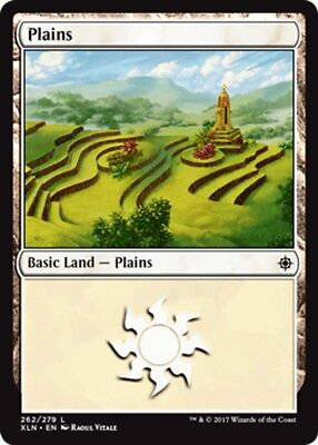 Magic the Gathering FOIL PLAINS x10 card mtg NM basic land cards mana