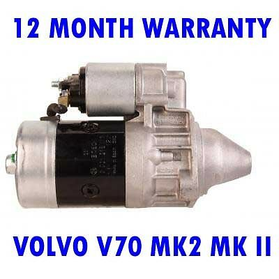 VOLVO V70 MK2 MK II 2.4 2.5 2001 2002 2003 2004-2007 RMFD STARTER MOTOR
