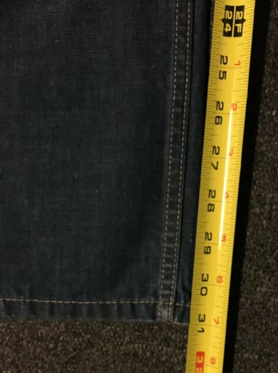 Levi's 514 Jeans 32/31 Distressed Straight Vtg 90… - image 8