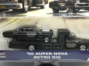 /'66 Chevy Super Nova Retro Rig Team Transport 1:64 Hot Wheels FYT09 FLF56