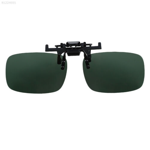 92DC 0C7D Polarized Lenses Mirror Flip Up Clip On for Sunglasses Outdoor Driving