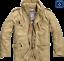 Brandit-m65-standard-2in1-caballeros-otono-invierno-chaqueta-Parka-chaqueta-militar-nuevo miniatura 9