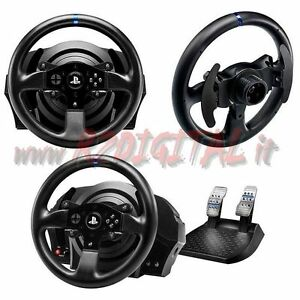 volant de direction p dales thrustmaster t300rs pc ps3 ps4 p dalier usb console ebay. Black Bedroom Furniture Sets. Home Design Ideas