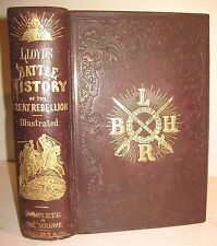 1866 CIVIL WAR Great Rebellion BATTLE HISTORY Slavery LINCOLN Union CSA c @ $750