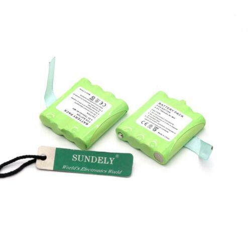 Midland 2x Battery Pack Batt-6R 2 Way Radio LXT335 LXT340 LXT345 LXT360 LXT365
