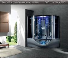 2017 Valencia Steam Shower Sauna with Jacuzzi Whirlpool Massage Bathtub Hot Tub