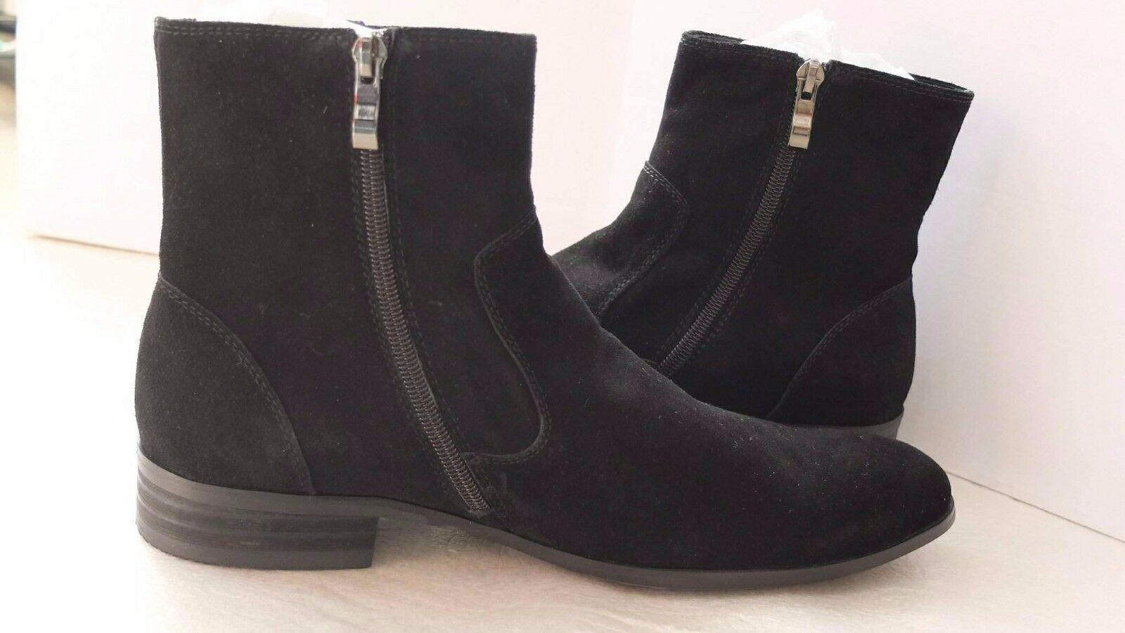 Noex 39 men's black suede boots size 39 Noex (5UK)* 9e6ff7