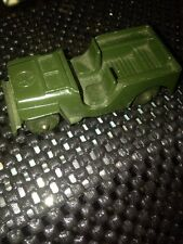 "Vintage New Brunswick DIECAST Us Army Jeep 2 1/2"" EXCELLENT CONDITION"