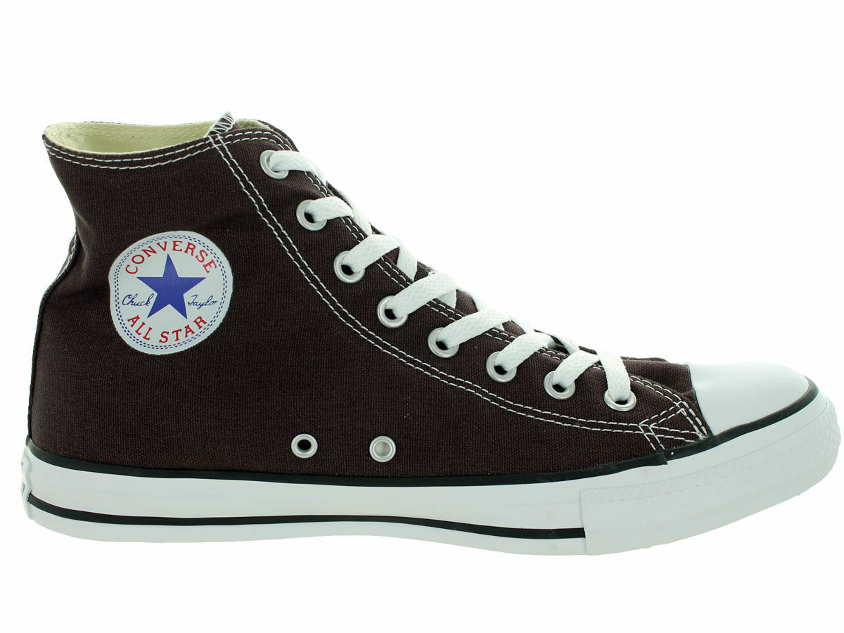 CONVERSE CHUCK TAYLOR HI AS CANVAS Homme Chaussures BURNT UMBER 149514F Taille 11 NEW